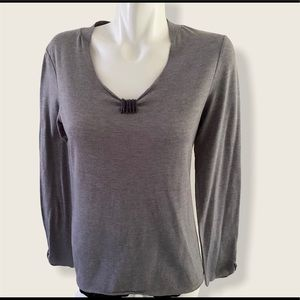 FREE WITH ANY PURCHASE Cassis Long Sleeve Top